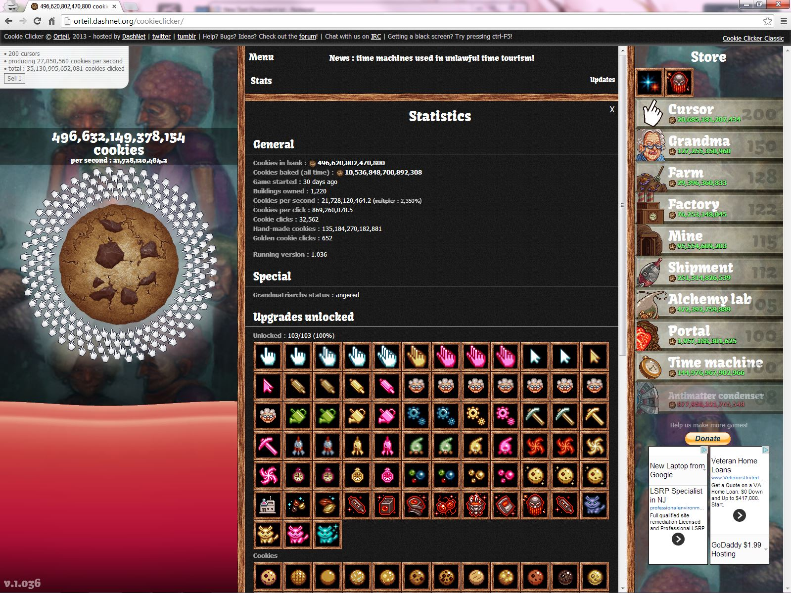 Cookie Clicker   Team9000 Forums