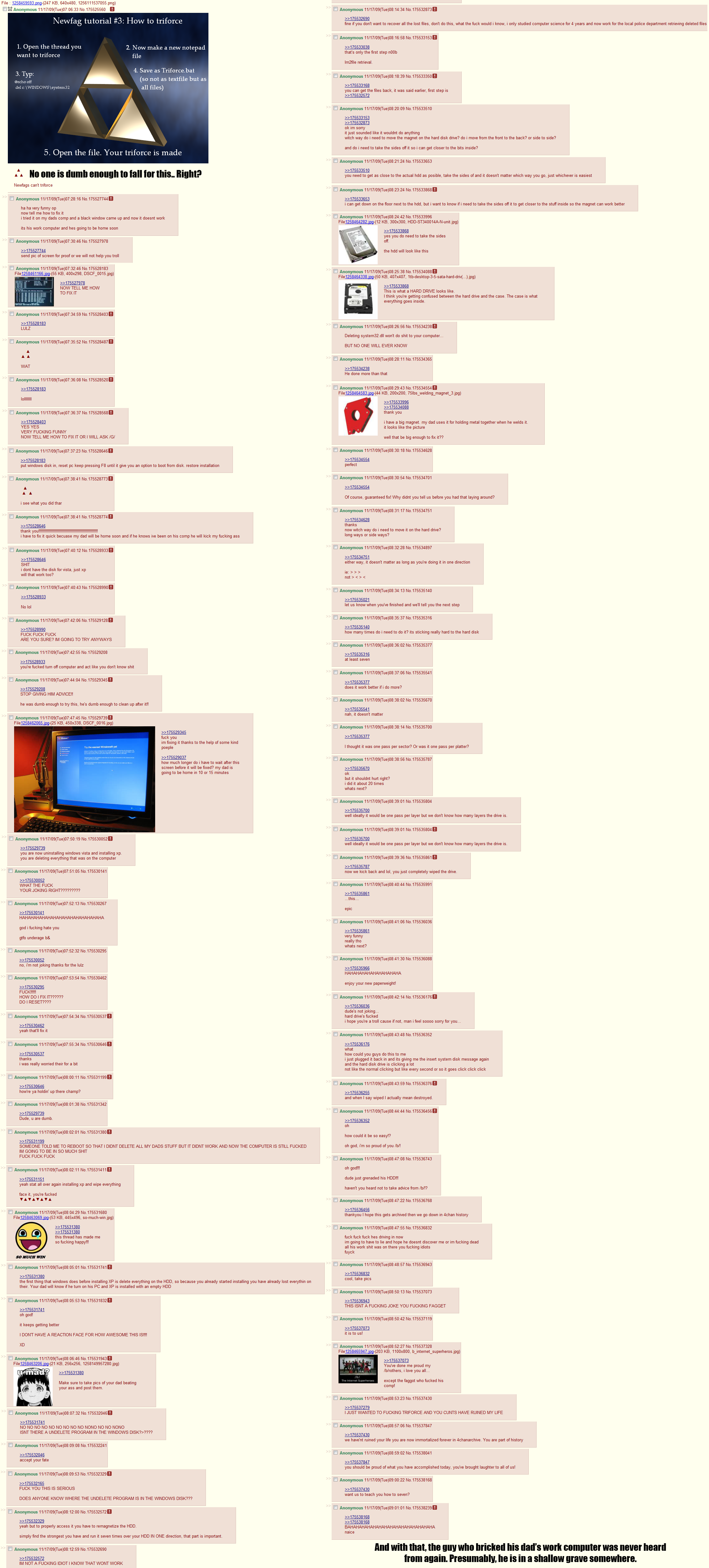 Oh 4chan, you so funny | Team9000 Forums