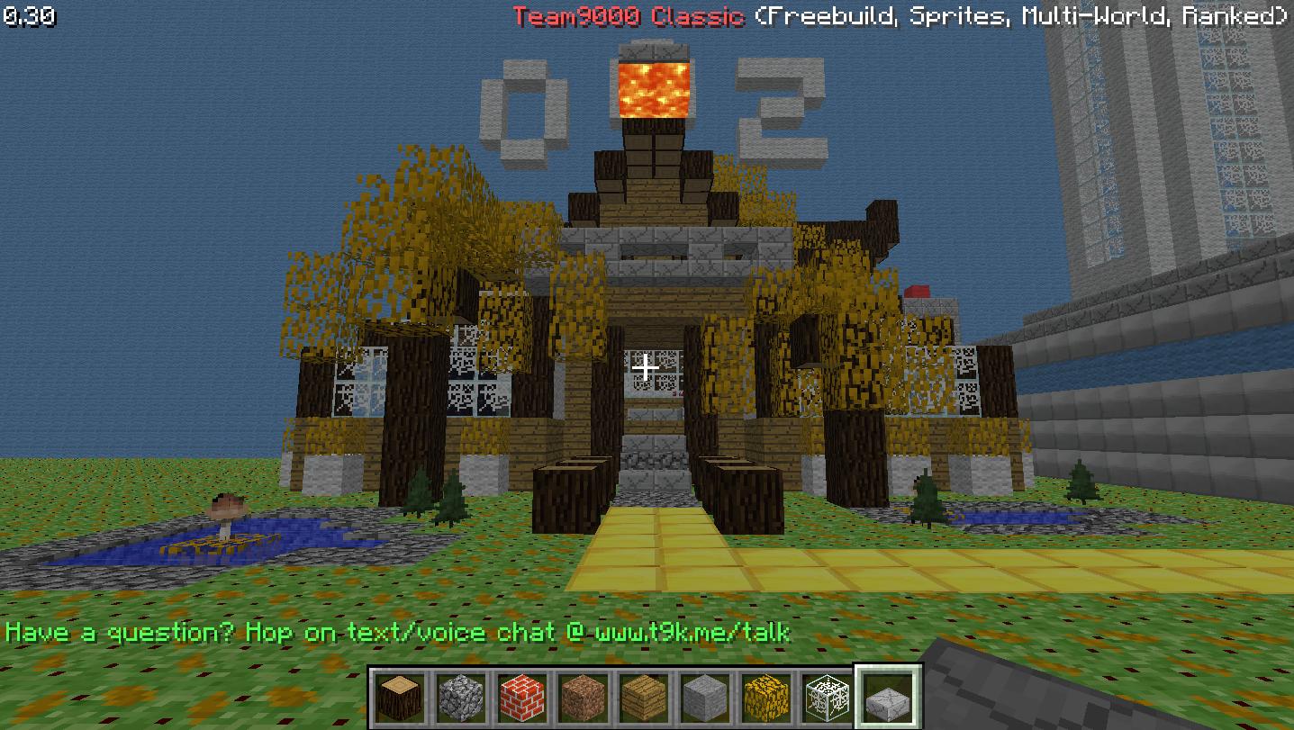 Minecraft CLASSIC Fall / Halloween Texture pack. | Team9000 Forums